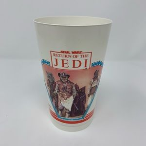 Vintage Return of the Jedi Coke Collectible Cup